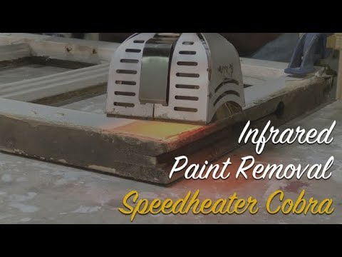 Infrared Paint Removal: Speedheater Cobra