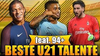 FIFA 18: BESTE TALENTE OHNE TRAINING! 🏆 U21 90+ KADER! 😱   KARRIERE POTENZIAL   Deutsch