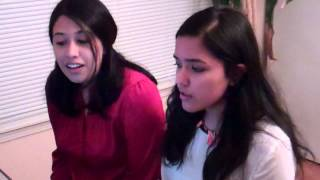 Repeat youtube video A Team / Oh My Friend Cover By Shwetha and Sushmitha Suresh