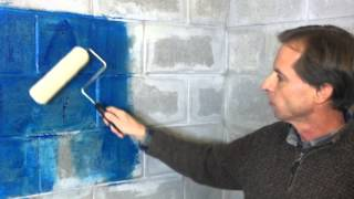 Waterproofing & Fixing Basement Foundation Leaks with Ames Blue Max & Seam Tape