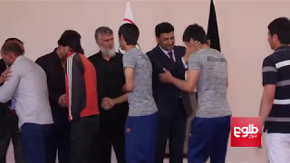 17 Afghan Athletes Off To Azerbaijan For Islamic Solidarity Games