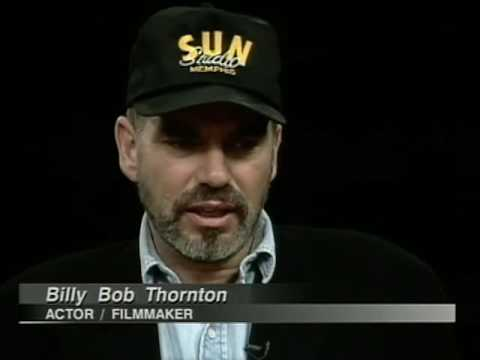 Billy Bob Thornton Talks Sling Blade On Charlie Rose 1997 & Corgan Smashing