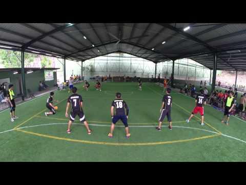 National Dodgeball League 2014: Match 99 - Titans vs Zelts Game 9/11 (Male)