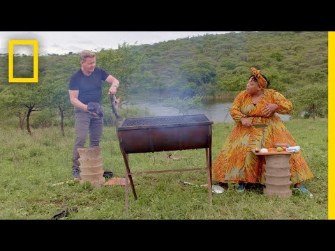 How India Influenced South African Cuisine | Gordon Ramsay: Uncharted