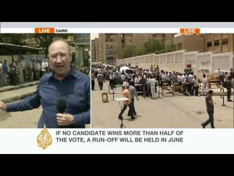 Mike Hanna reports on Egypt's election