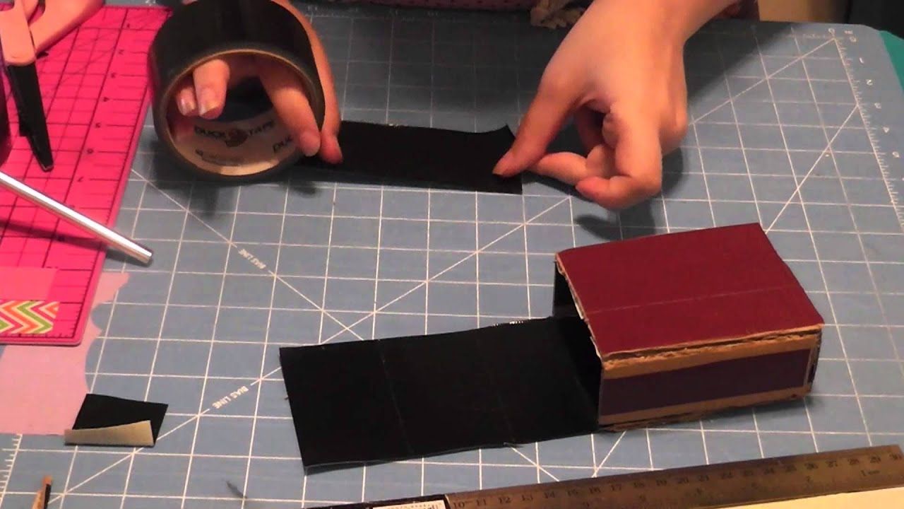 Duct Tape Deck Box Tutorial - Simplified Version - YouTube