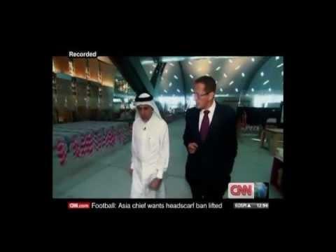 CNN interviews Qatar Airways CEO on 31 January 2012