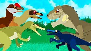Dinosaurs Cartoons for Children | GreenSpino - Cartoons Collection | Dinosaurs videos for kids