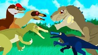 Dinosaurier Cartoons | GreenSpino - Karikaturen-Sammlung | Animierte Filme