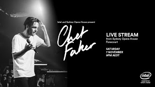 Chet Faker streamed live from Sydney Opera House presented by Intel