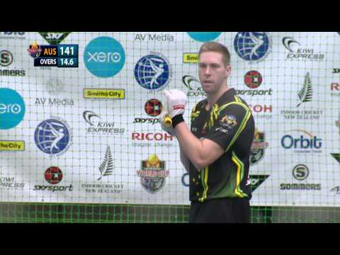 2014 Indoor Cricket World Cup - Open Men's Grand Final - Australia vs New Zealand