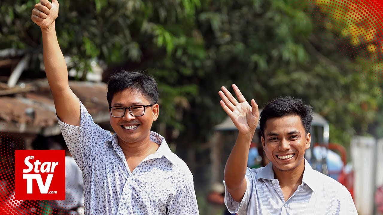 Reuters journalists freed in Myanmar after 511 days behind bars