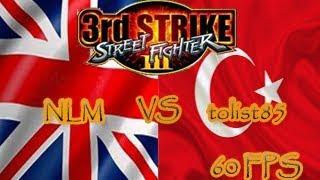 FightCade - Street Fighter 3 3rd strike: NLM (Britain) vs tolist85 (Turkey)