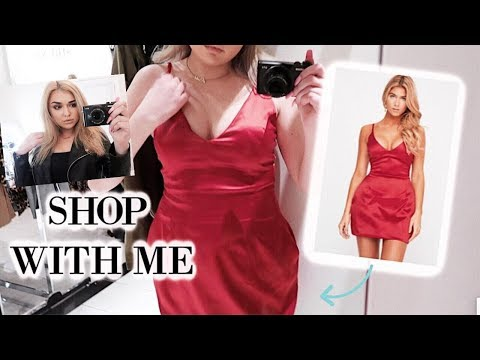 SHOP WITH ME + OOTD'S FOR NIGHTS OUT & DATES | Chloe Zadori