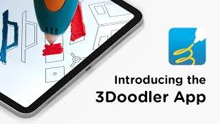 DOODLE on your iPad with the NEW 3Doodler App!