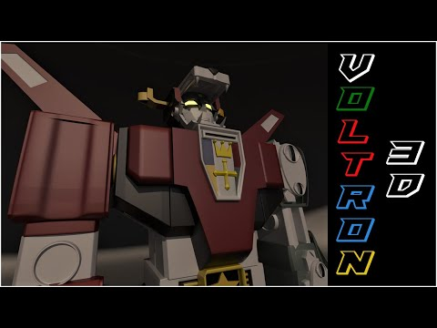 Voltron ( Golion ) 3DS Model