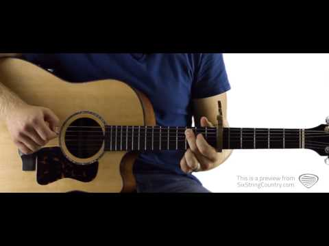 Whatever She's Got David Nail Guitar Lesson and Tutorial