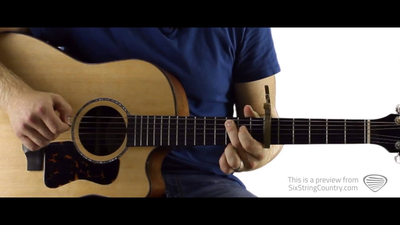 Whatever She\'s Got David Nail Guitar Lesson and Tutorial - YouTube