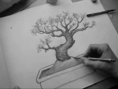 Wood Texture Drawing Pencil