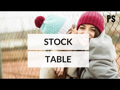 How to read a stock table in 3 minutes? (animated video) - Professor Savings