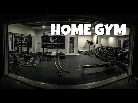 how to build a home gym  youtube