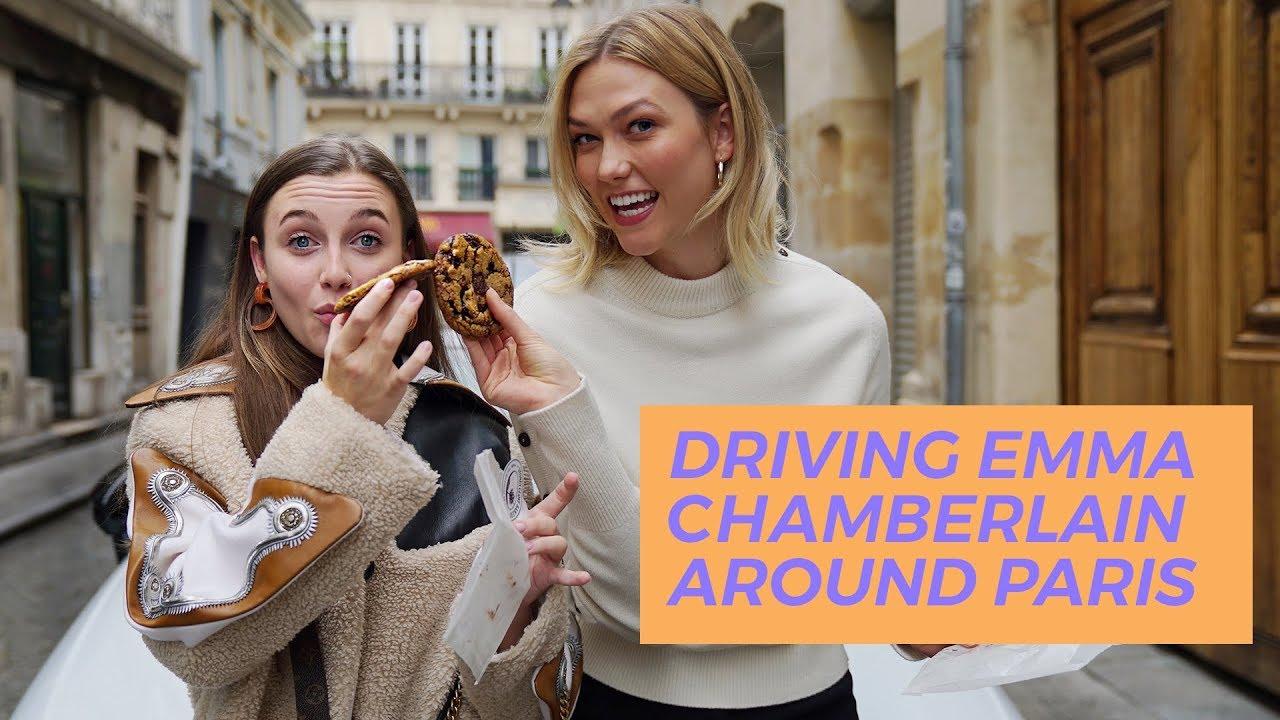 Driving Emma Chamberlain Around Paris Karlie Kloss Youtube