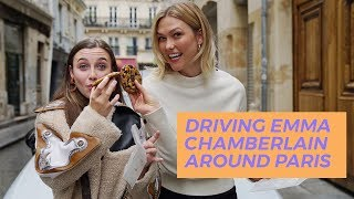 Driving Emma Chamberlain Around Paris | Karlie Kloss