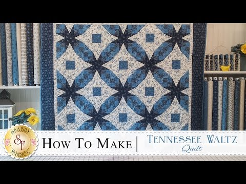 How to Make a Tennessee Waltz Quilt | a Shabby Fabrics Quilting Tutorial