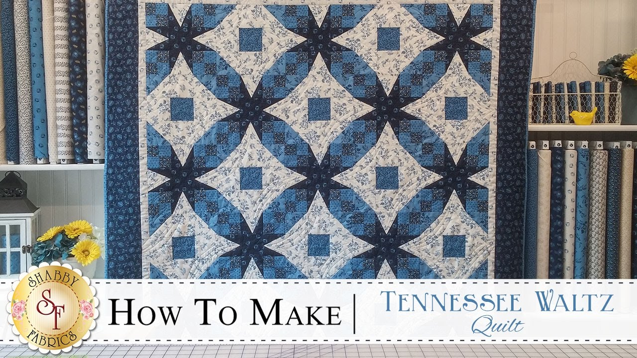 How to Make a Tennessee Waltz Quilt | with Jennifer Bosworth of ... : 54 40 or fight quilt - Adamdwight.com