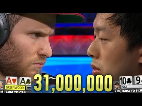 ACES CRACKED For 31,000,000!!! (2019 WSOP Main Event)