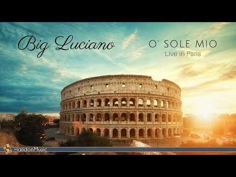 Luciano Pavarotti - O' Sole Mio (Live in Paris)