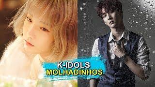 7 MÚSICAS de K-POP pra OUVIR Durante A CHUVA
