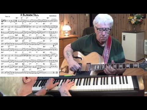 A Blossom Fell - Jazz guitar & piano cover