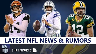 NFL News & Rumors: Latest On Aaron Rodgers, Trade Rumors, Cam Newton, Dak, Andy Dalton, Malik Hooker