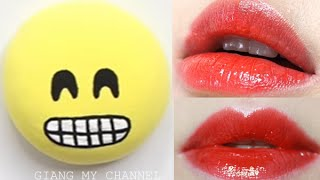 lm son dưỡng mi icon diy emoji lip balms from scratch fun easy