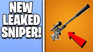 *LEAKED* SUPPRESSED SNIPER IN FORTNITE IMAGES & AUDIO! Fortnite New Leaked Season 7 Weapons!