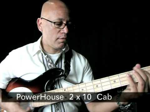 Mesa Engineering Powerhouse Bass Cabs Demo - Part 1