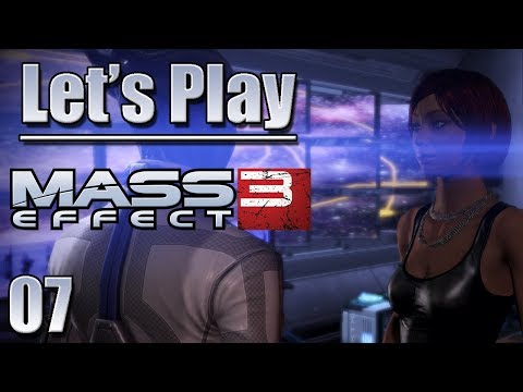 Let's Play Mass Effect 3, Blind - [Ep 7] - More Dialogue in the New Normandy | ME3