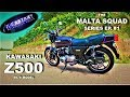 "Kawasaki Z500 (1979 Model) - The ""Screaming Little Sister"" - Malta Squad Series Ep#1"