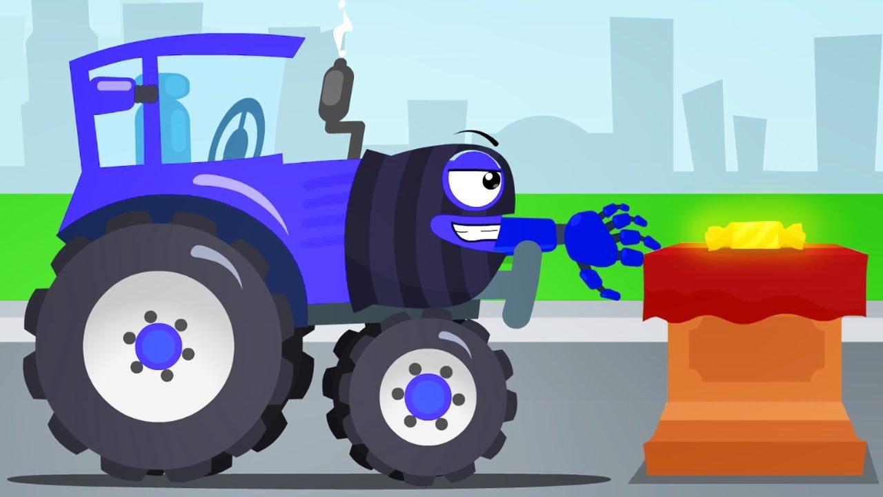 El Tractor Y Super Aventura Dibujos Animados Para Niños Carritos Infantiles Youtube
