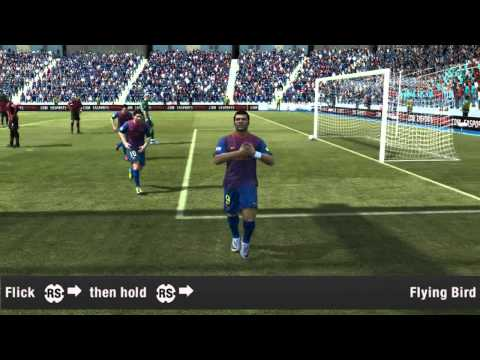 FIFA 12 - Running Celebrations - TUTORIAL | RusUnited