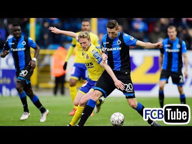 2017-2018 - Jupiler Pro League - 26. Waasland-Beveren - Club Brugge 1-1