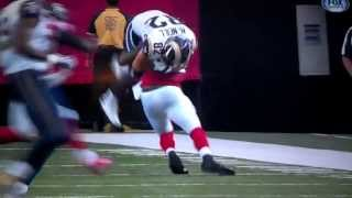Atlanta Falcons William Moore LAYS RAM OUT