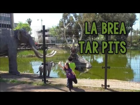 Visiting the La Brea Tar Pits in L.A. - The Road Trip Kids Episode 4