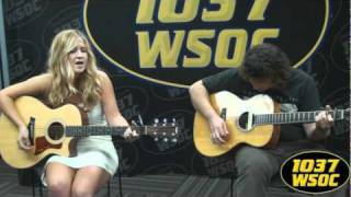 "1037 WSOC: Margaret Durante sings ""Mississippi Crying"""