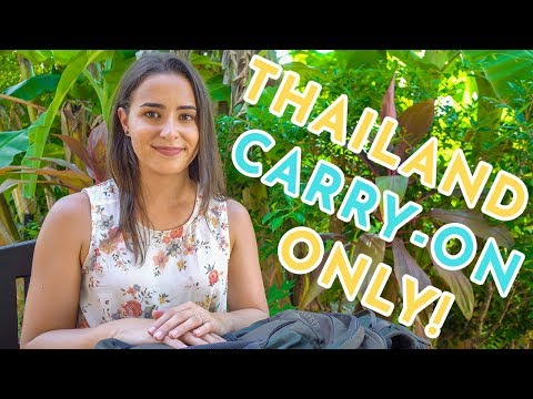 Minimalist Thailand Packing List: What to Pack For 2 Weeks!