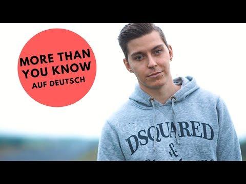 VOYCE - MEHR ALS DU DENKST (More Than You Know auf DEUTSCH)