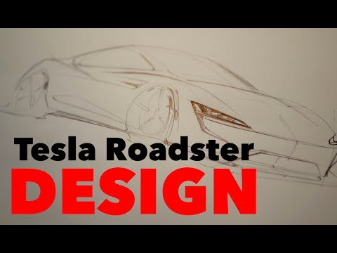 About the Tesla Roadster Design.