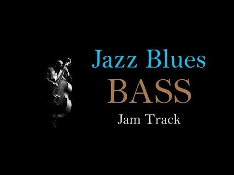 Bass Backing Jam Track // Jazz Blues in D Minor