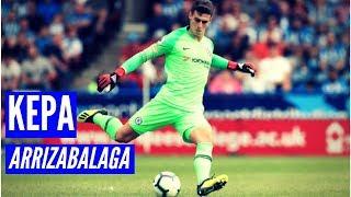 Kepa Arrizabalaga Chelsea vs Huddersfield Town (11/08/2018) | HD